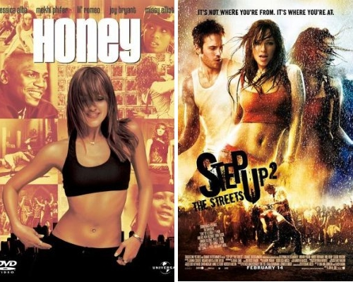 Honey and Step Up 2