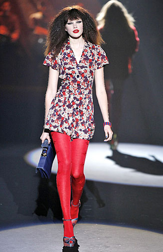 Betsey Johnson fall floral
