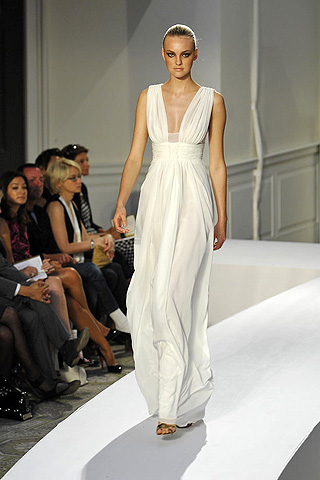 Grecian Dress on Serena Gossip Girl White Party