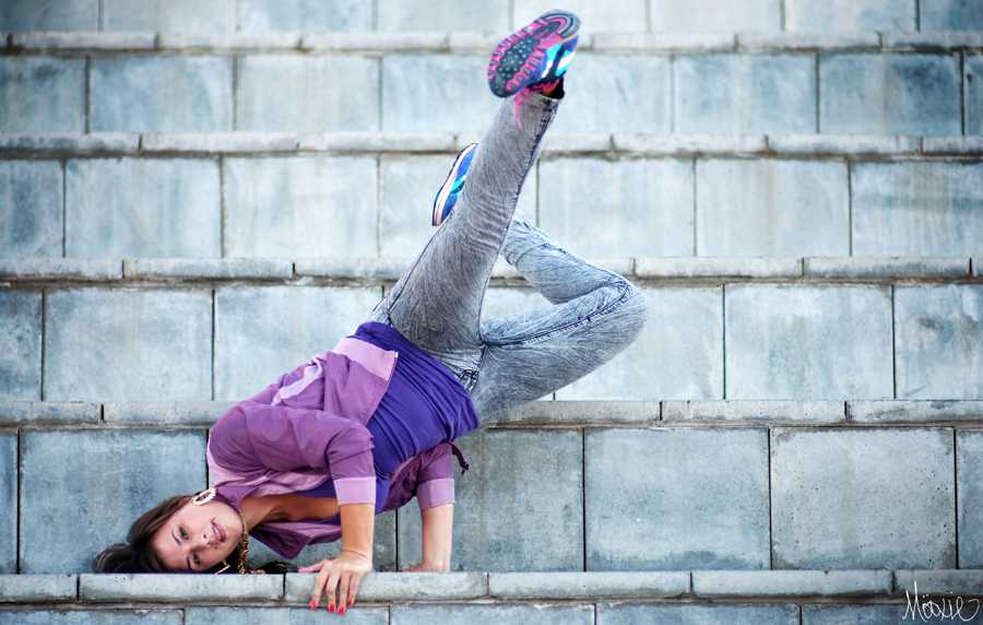 More Hip Hop Styles for Women Plus Purple Clothing Inspiration