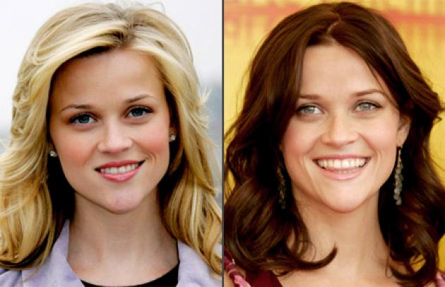 It's a fact. Some women look better blonde (Reese Witherspoon