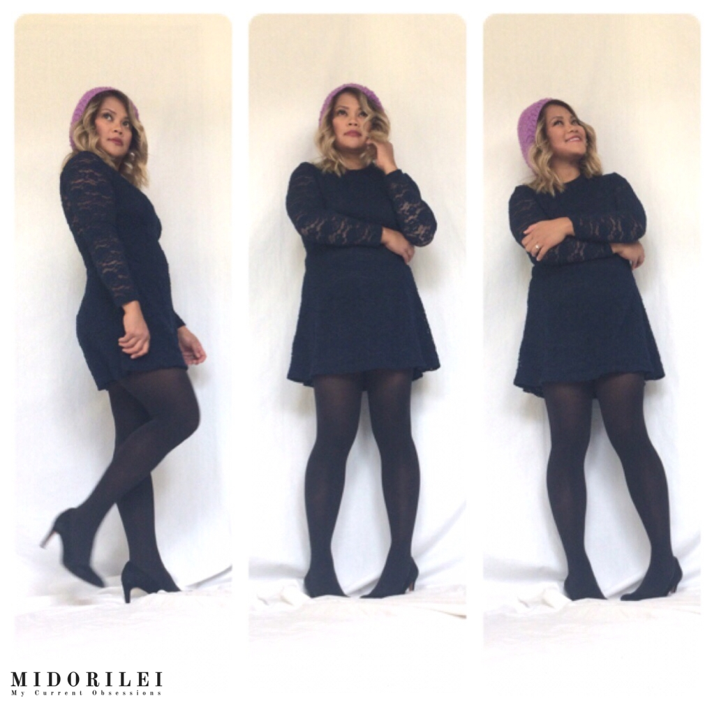 outfit ideas, navy blue, dress, fall 2017 fashion trends