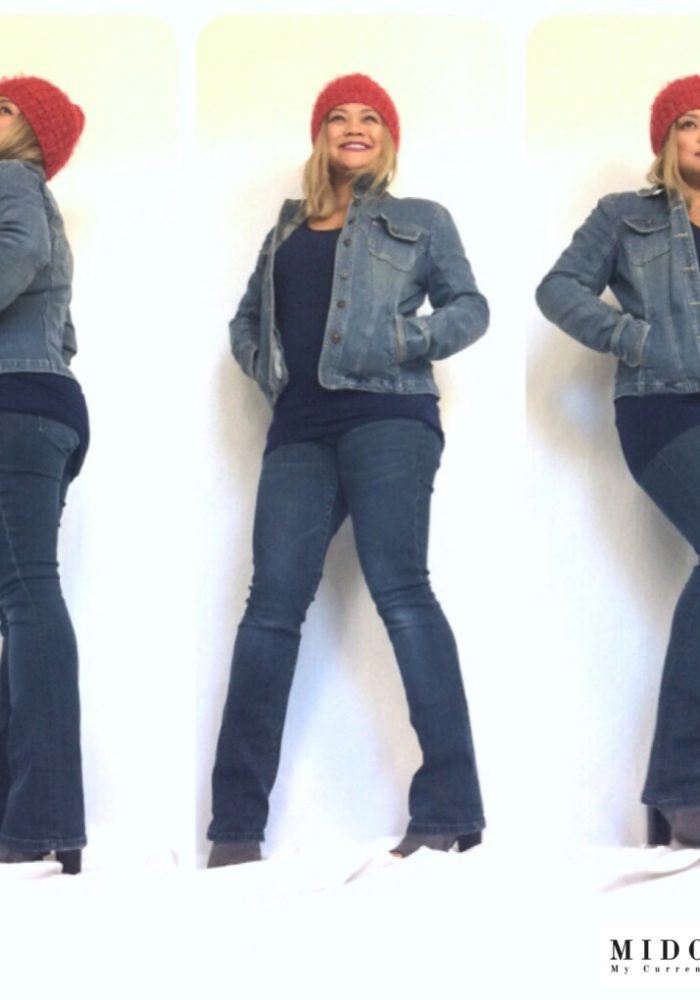 denim on denim, cute fall outfits