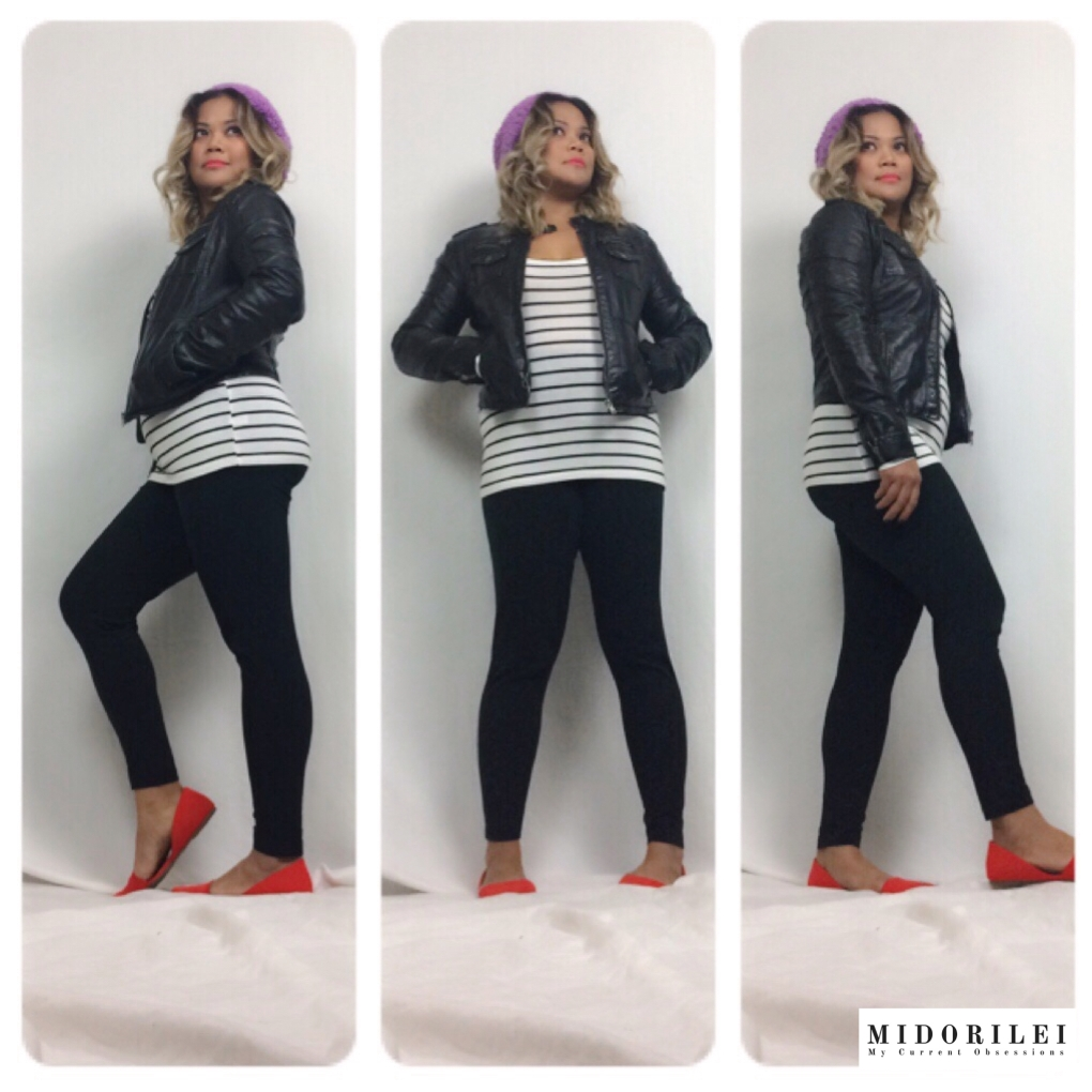 how to wear a beret, bright colors, black and white stripes